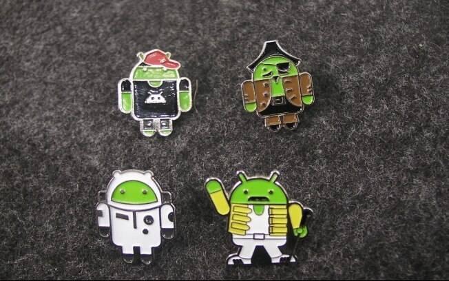 Boton do Android é febre entre os visitantes