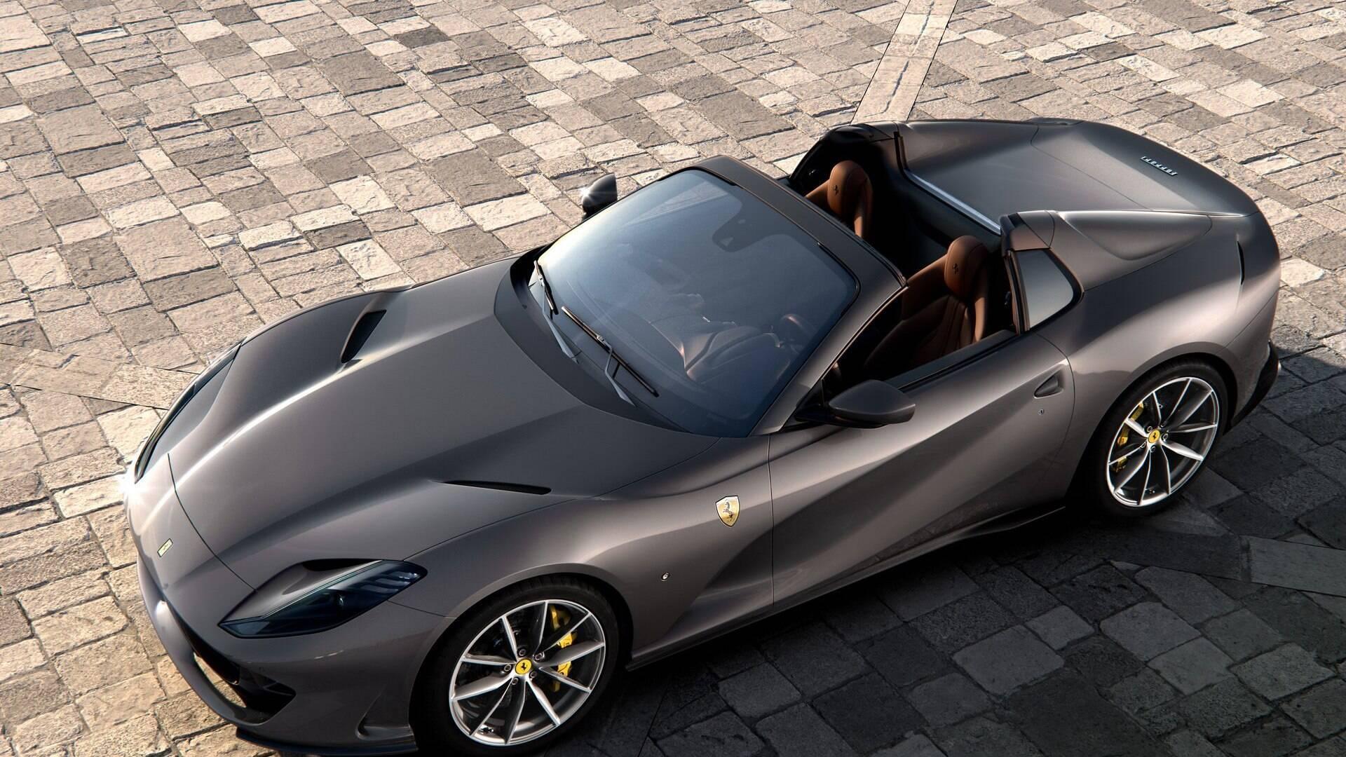Ferrari Revela Novo 812 Gts O Conversivel Mais Potente Do Mundo Carros Ig