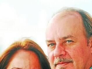 Claudia Mauro e Paulo César dizem que torcem um para o outro