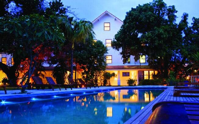 O Hotel Santa Teresa possui vista panorâmica para a Baía de Guanabara