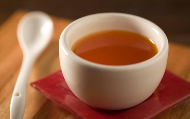 Foto da receita Azeite de pimentão vermelho pronta.