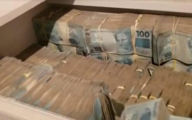 Operação do Ministério Público de SP, Receita Federal e Secretaria Estadual da Fazenda encontraram R$ 8 milhões em dinheiro em armário