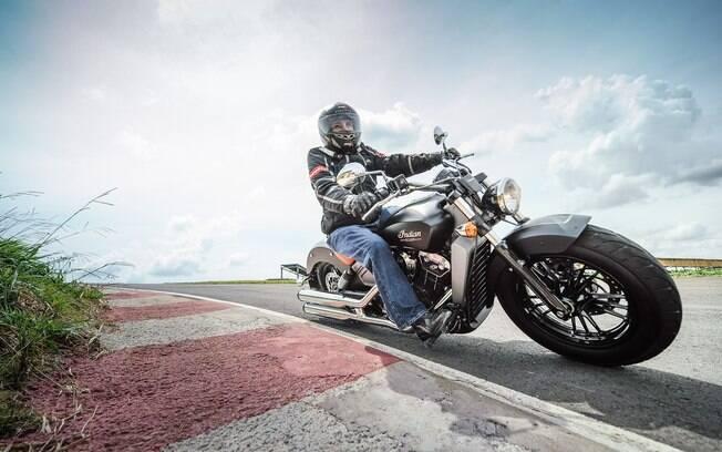 Indian é rival da Harley-Davidson no segmento de motos do tipo custom, para serem pilotadas sem muita pressa