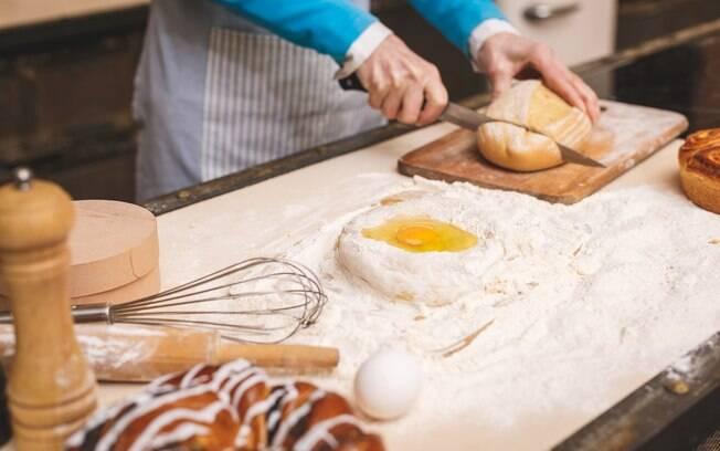 Lembre-se sempre de seguir a receita para que o pão fique perfeito