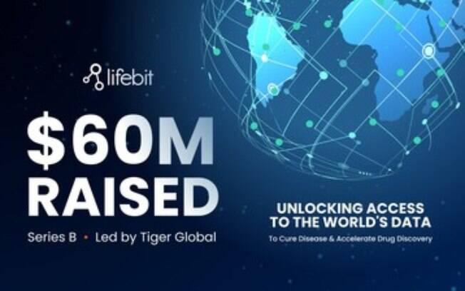 Lifebit arrecada US$ 60 milhões para tornar os dados biomédicos vitais acessíveis com segurança para pesquisas que mudam a vida em todo o mundo