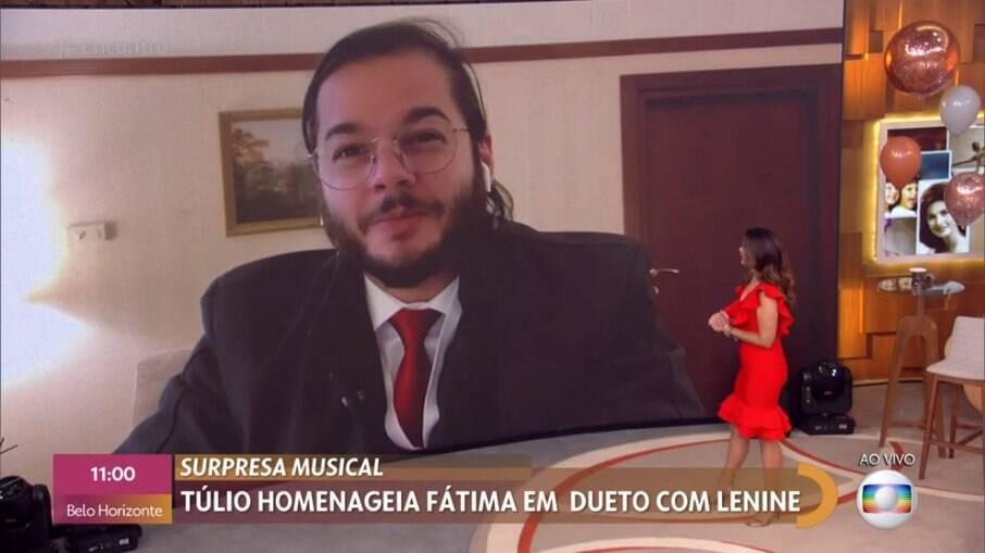 Fátima recebe homenagem de Túlio Gadêlha
