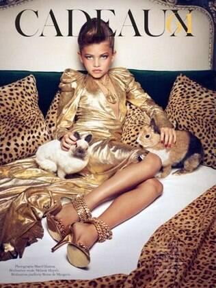 Thylane nas páginas da Vogue: editorial chocante voltou à tona com divulgação de novas fotos da modelo
