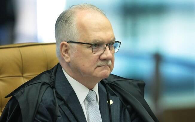 O ministro Edson Fachin, relator da Lava Jato no Supremo Tribunal Federal
