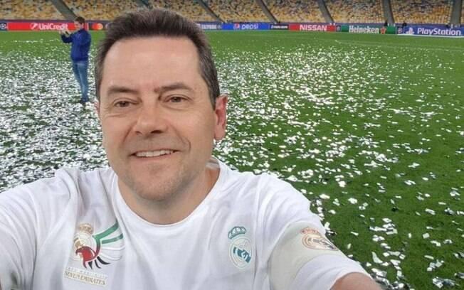 Jornalista é torcedor do Real Madrid