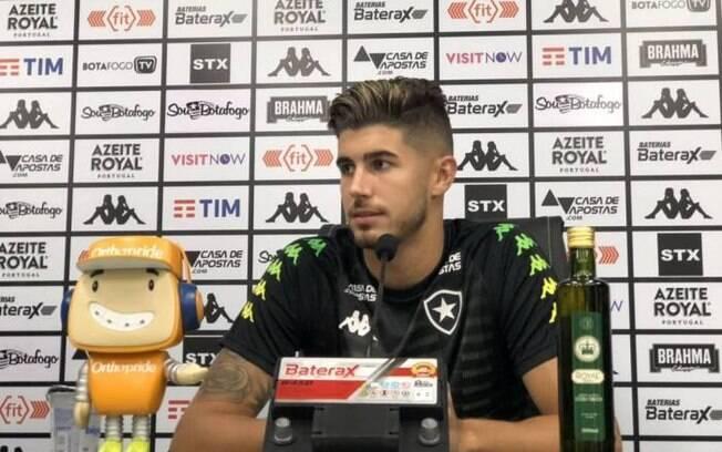 Pedro Raul, atacante do Botafogo