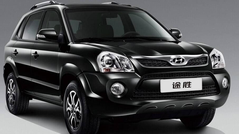 Hyundai Tucson (China): arranjo nos faróis, lanternas e rodas estão entre as diferenças do SUV vendido na China