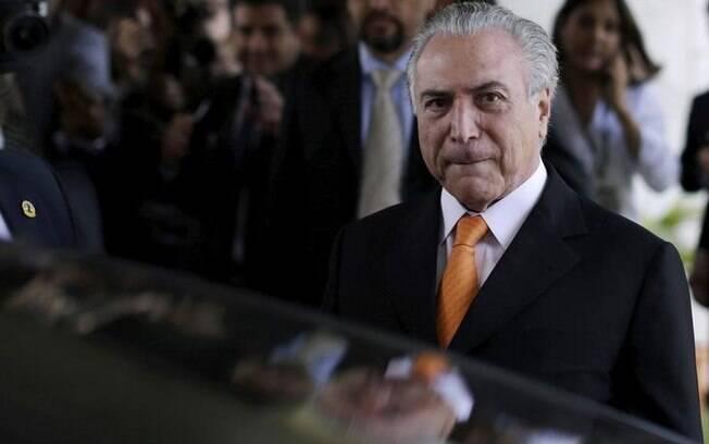 O vice Michel Temer: interesse pelo Planalto deve complicar sua por ora confortável situação
