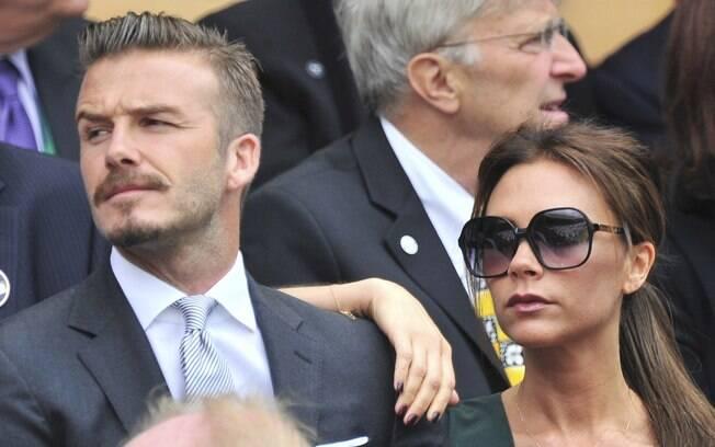 David Beckham é casado com a Spice Girl  Victoria