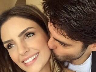 Kaká e Carol Celico reatam casamento