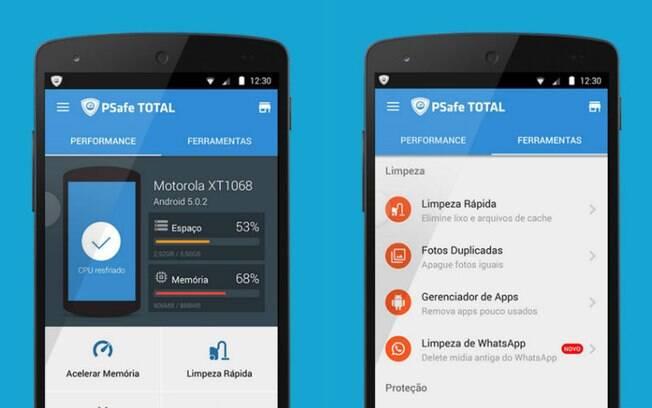 Aplicativo oferece recursos para excluir arquivos desnecessários da memória do celular
