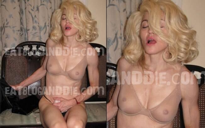 Supostas fotos de Madonna são divulgadas em Blog