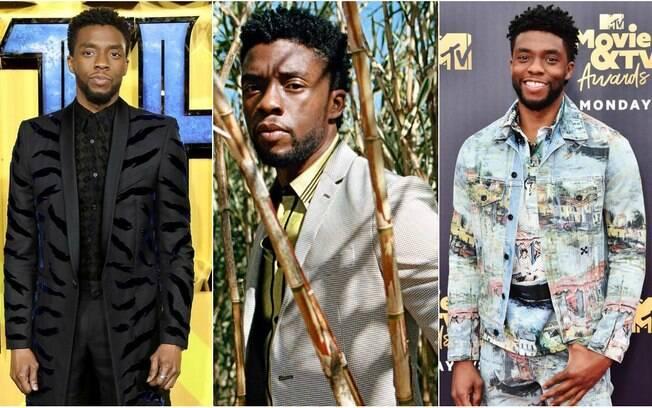 Homens mais bonitos 2018! Chadwick Boseman encantou nossos olhos como Pantera Negra no filme da Marvel