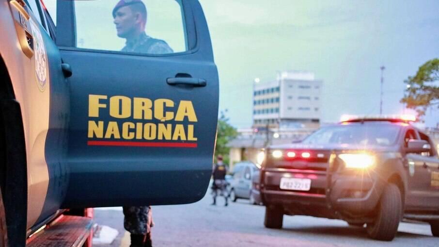 Militares da Força Nacional de Segurança Pública (FNSP)