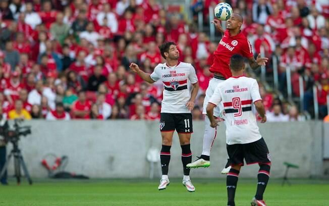 São Paulo mostrou volume de jogo, mas não conseguiu marcar na equipe reserva do Internacional. Foto: Internacional/Alexandre Lops