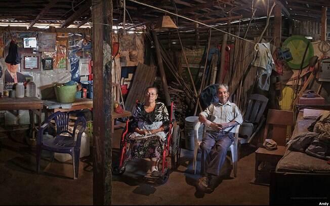 Esta imagem foi feita em La Cuchilla, em El Salvador. Foto: Andy Goldstein