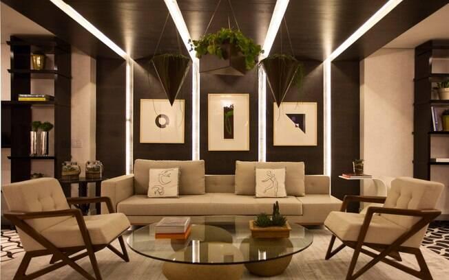 A arquiteta Érica Salguero assina o Espaço Gourmet De' Longhi, de 80 m². O espaço é uma releitura moderna de cafés italianos