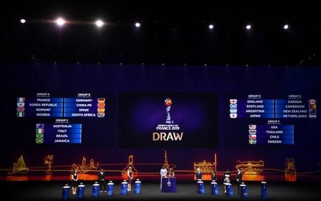 Seleção feminina do Brasil está no Grupo C da Copa do Mundo de futebol feminino