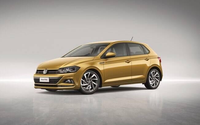 VW Polo feito no Brasil vem com a frente com apelo um pouco mais esportivo, principalmente na versão Highline