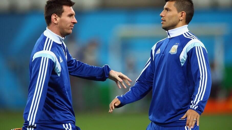 Messi e Agüero