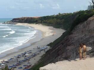 A praia da Pipa é o ponto final da Rota do Sol