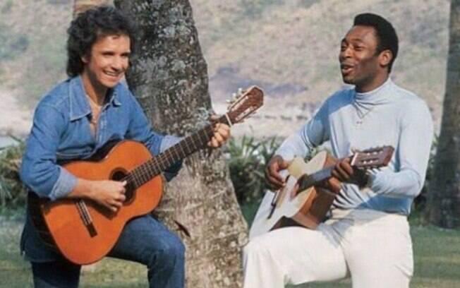 Roberto Carlos e Pelé