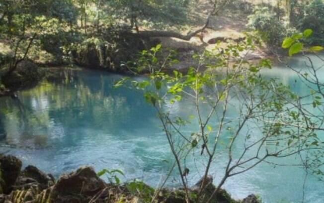 O rio Atoyac em dias mais normais