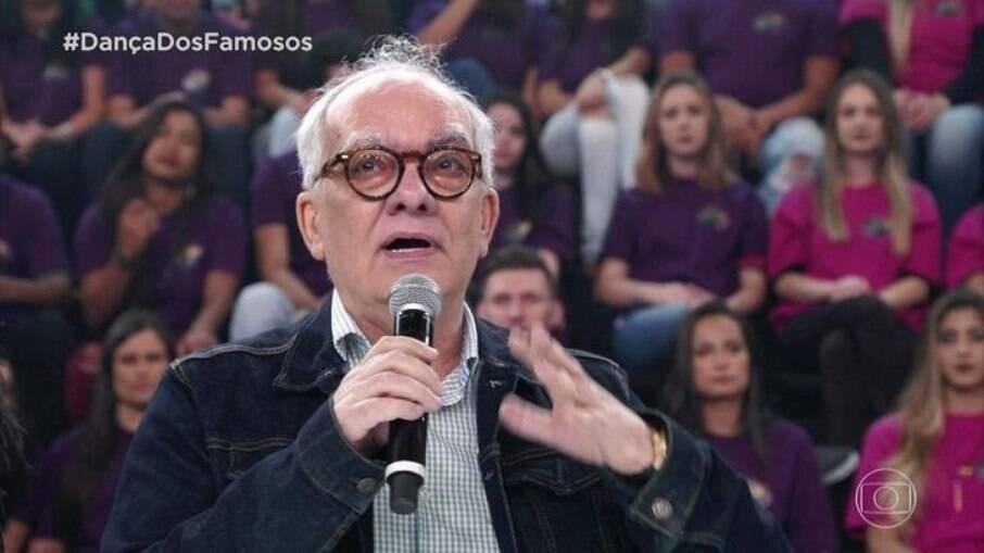 Artur Xexéo foi homenageado no 'Super Dança dos Famosos'