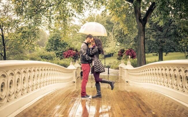 O Central Park é umas das atrações mais populares do destino e pode se tornar um cenário muito romântico