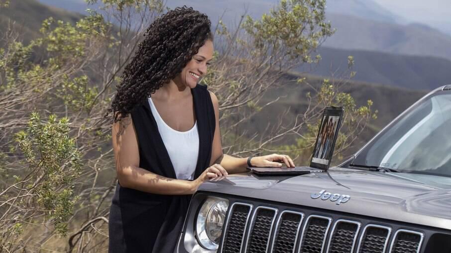 Parceria com a TIM vai permitir que carros da Jeep tenham Wi-Fi nativo