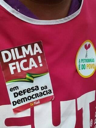 Manifestantes protestam em São Paulo a favor da Petrobras e contra ajuste fiscal
