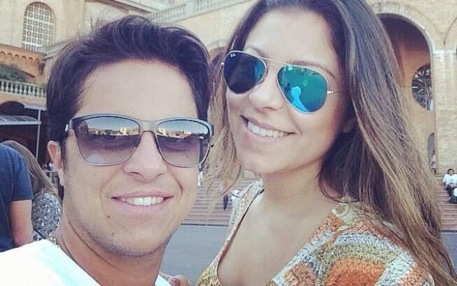 bcbabff24e47 Thammy Miranda aparece de barba em foto postada pela namorada Andressa no  Instagram. Veja toda