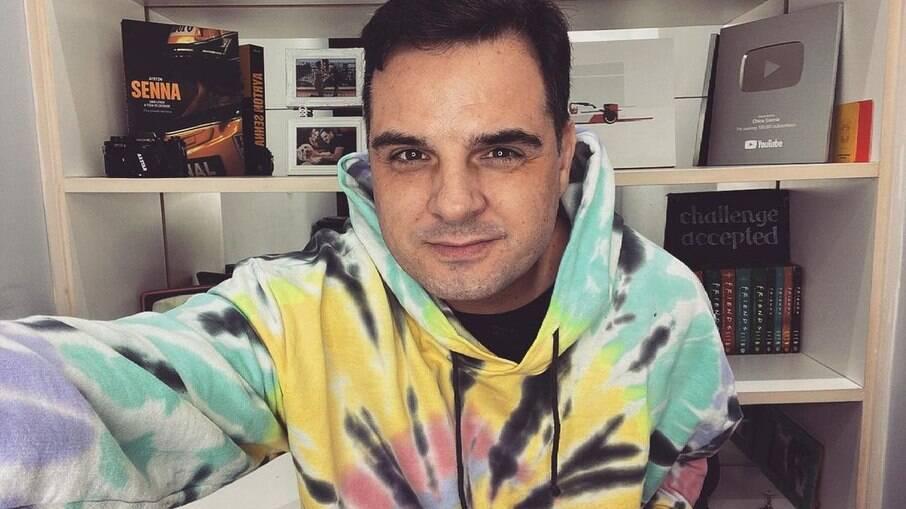 Chico Garcia, jornalista e comentarista.