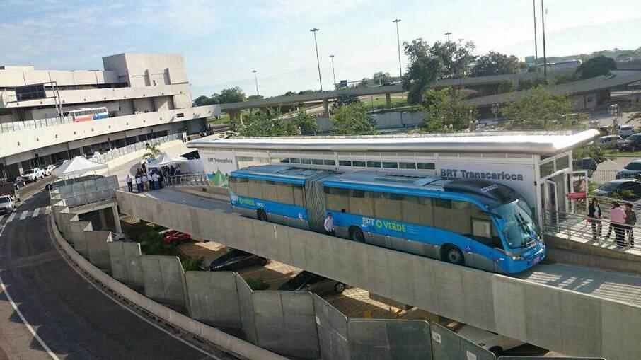 Passageiros ainda continuam expostos ao vírus no BRT