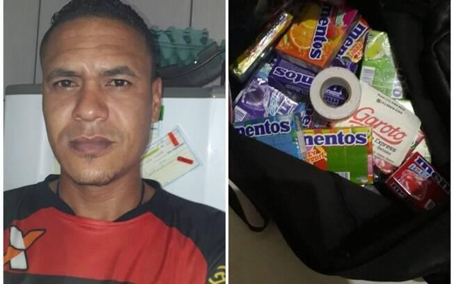 Vendedor de balas Rogério Xavier Salles