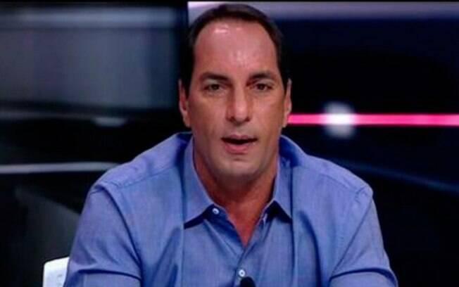Edmundo, comentarista do Fox Sports