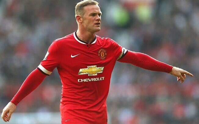Wayne Rooney, um dos destaques do United, dirige um Rang Rover