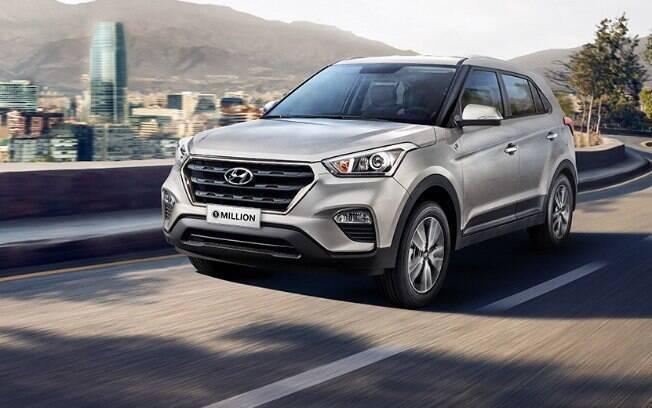Hyundai Creta pode ser tornar o SUV compacto mais vendido de 2018 pela pequena diferença para o rival Honda HR-V