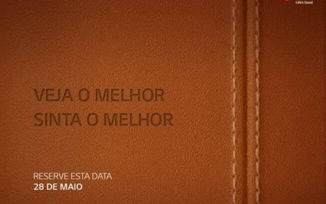 LG G4 será anunciado no dia 28 de maio no Brasil