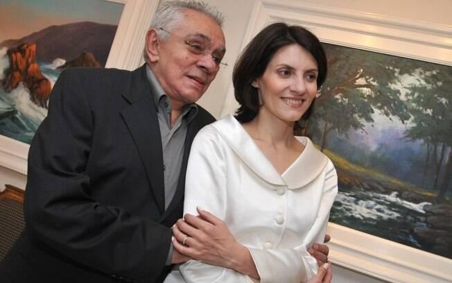 Chico Anysio e Malga de Paula