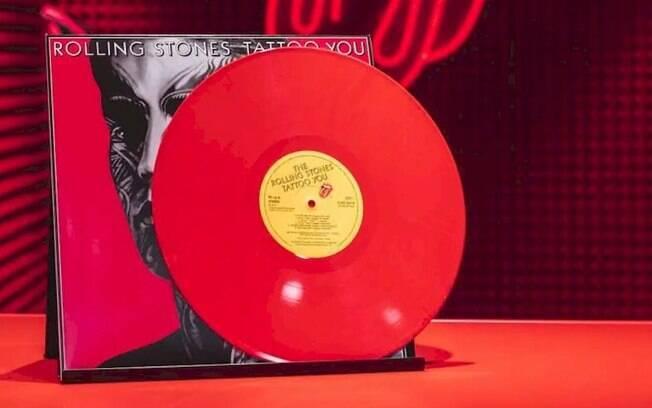 """Rolling Stones: """"Tattoo You"""" ganha edição em vinil vermelho"""