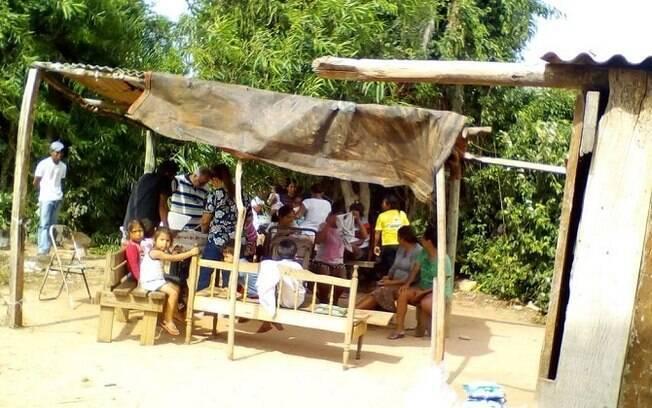 Aldeia Kurupy na região sul de Mato Grosso do Sul