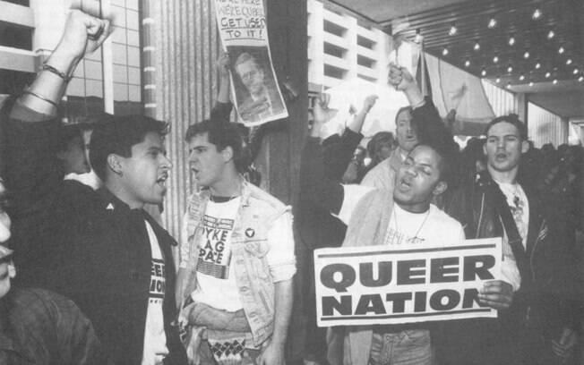 O grupo Queer Nation tinha agenda anti-heterossexual. Aumentou a visibilidade dos LGBT e tentou combater a homofobia. Na época, queer ainda era um insulto.