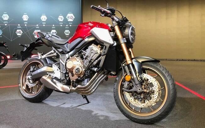 Honda CB650R é Lançada Na Europa Por R$ 33.390 E Chegará