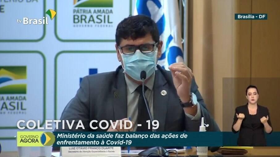 O secretário de Atenção Especializada à Saúde do Ministério da Saúde, Luiz Otávio Franco Duarte