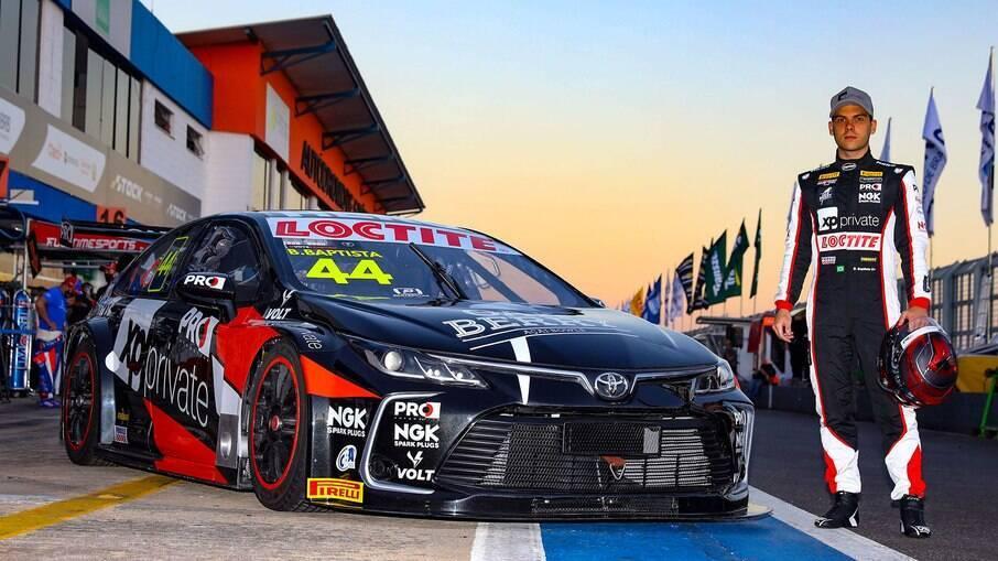 Bruno Baptista e seu Toyota Corolla de Stock Car voltarão ao Velocitta nos próximos dias 19 e 20 de junho